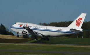 Un Boeing d'Air China à Washington le 22 septembre 2015