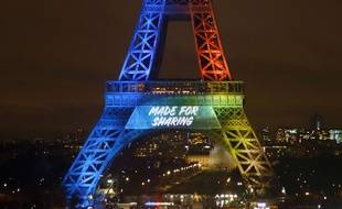 """Le slogan de Paris 2024, """"Made for sharing"""" est donc en anglais pour toucher plus largement le monde entier et les membres du CIO chargés du vote."""