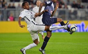 Les Girondins de Diego Rolan humiliés dans leur stade par Caen, le 29 novembre 2015.