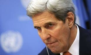 Le secrétaire d'Etat américain John Kerry à l'ONU, le 18 décembre 2015.