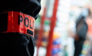 Un policier en intervention (Illustration).