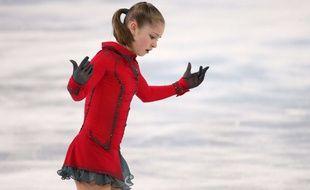 Yulia Lipnitskaya a été sacrée championne olympique de patinage artistique lors de JO de Sotchi, le 20 février 2014.