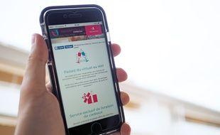 Le site est accessible en attendant une version iOS