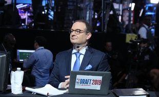 Adrian Wojnarowski à la draft 2019