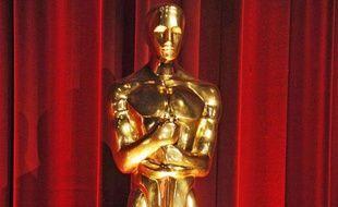 Une statue des Oscars le 1er mars 2014