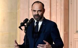 Edouard Philippe à Matignon, le 18 janvier 2019.