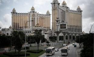 Le casino Galaxy, le 27 mai 2015 à Macao