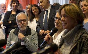 Fabrizio Pulvirenti (à gauche) avait contracté le virus Ebola alors que ce médecin italien travaillé en Sierra Leone.