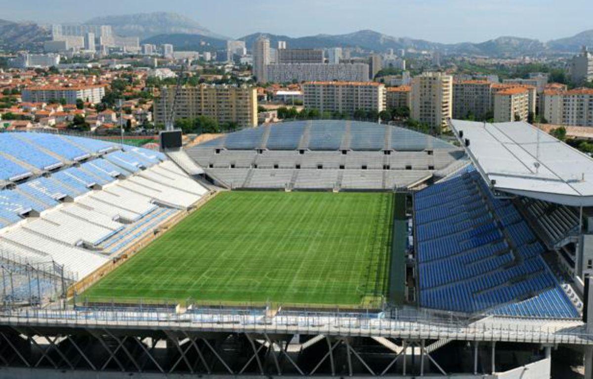 Le stade Vélodrome, à Marseille. – MICHEL GANGNE / AFP