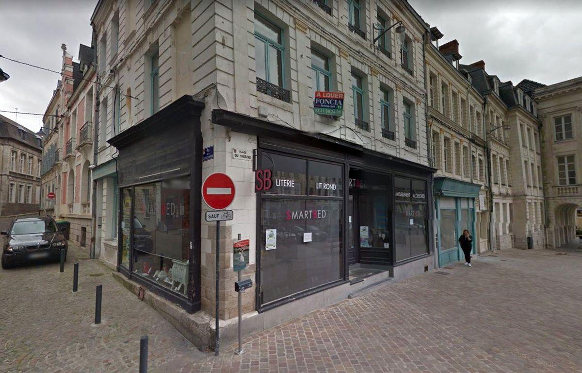 La boutique Smart Bed, à Arras. – Google Maps
