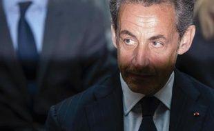 Nicolas Sarkozy le 28 février 2014 à Berlin
