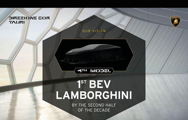 Lamborghini en route vers l'électrique