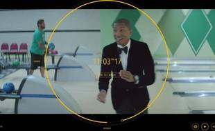 "Pharrell Williams dans le clip de 24 heures d'""Happy"", réalisé par le duo français de We are from LA."