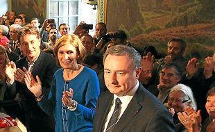 Jean-Luc Moudenc, élu maire.