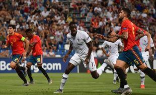 France-Espagne, demi-finale de l'Euro Espoirs 2019.