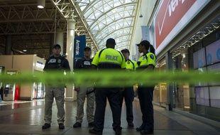 La gare centrale de Washington (Etats-Unis) a été bouclée après des coups de feu, le 11 septembre 2015.