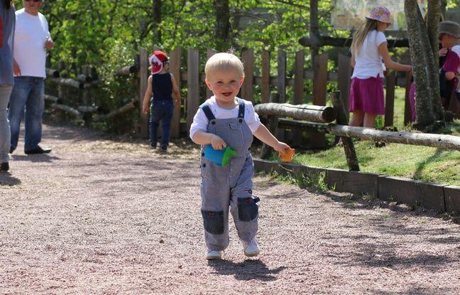 Le 6 mai 2016, enfant au parc zoologique de Bordeaux Pessac