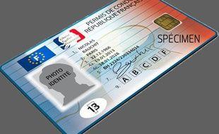 Le nouveau permis de conduire européen.