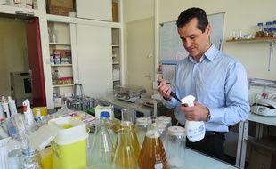 Le laboratoire du professeur Eric Charière