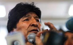 Evo Morales à Buenos Aires le 19 janvier 2020.