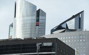 Le siège de la Société générale à La Défense.