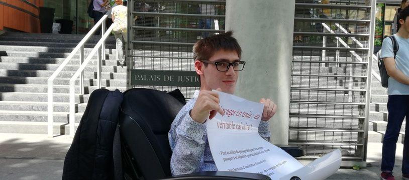 Kevine Fermine a attaqué la SNCF devant le tribunal de grande instance de Toulouse sur la question de l'accessibilité.
