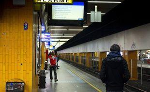 Le 13 juin 2013, les agents SNCF lancent un mouvement de greve qui touche les TGV, RER et TER