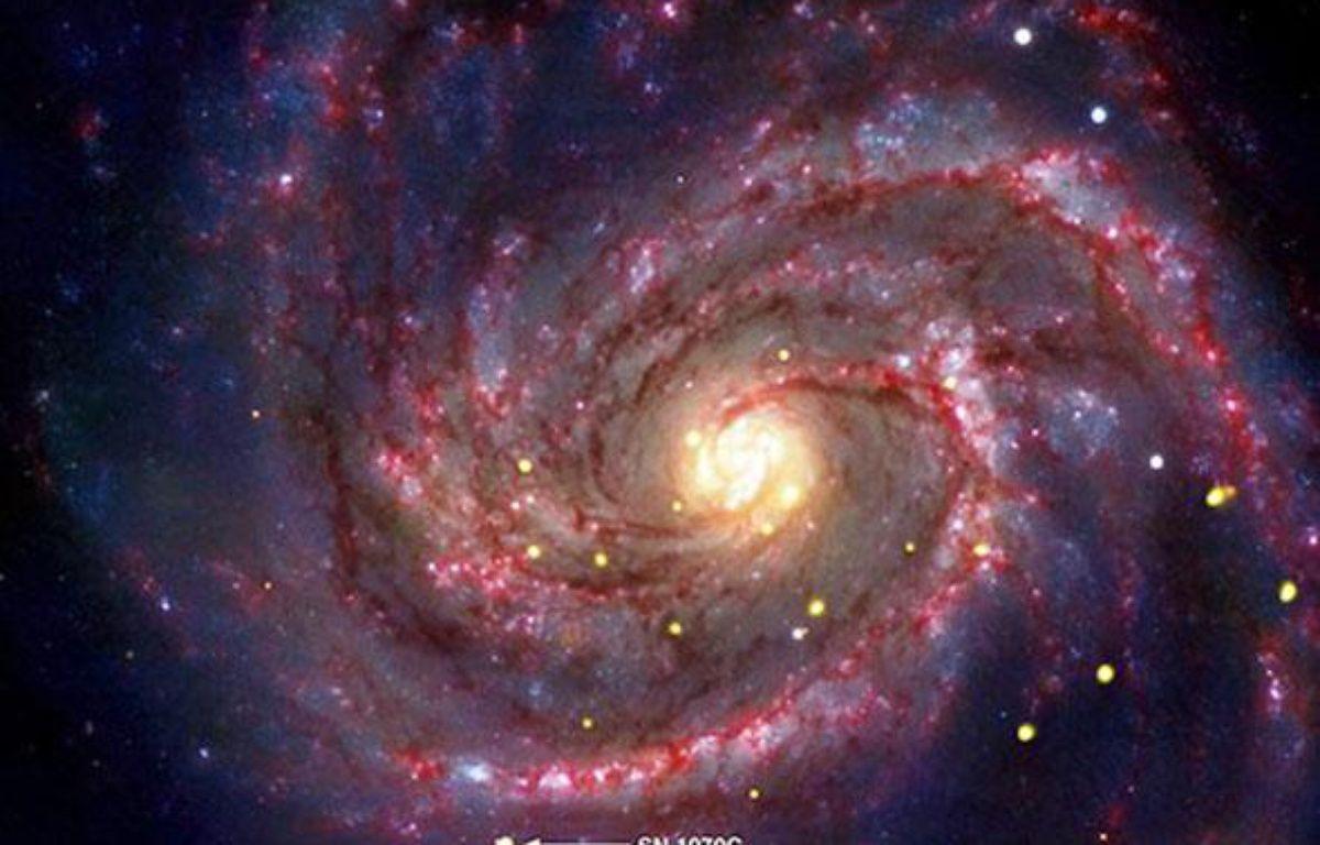 Cliché du trou noir âgé d'une trentaine d'années diffusé par la Nasa le 15 novembre 2010. – AFP PHOTO - NASA