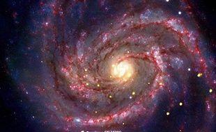Cliché du trou noir âgé d'une trentaine d'années diffusé par la Nasa le 15 novembre 2010.