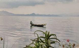 Le lac Kivu, en République démocratique du Congo (RDC) (illustration).