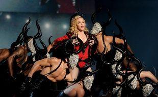 La chanteuse Madonna aux 57e Grammy Awards