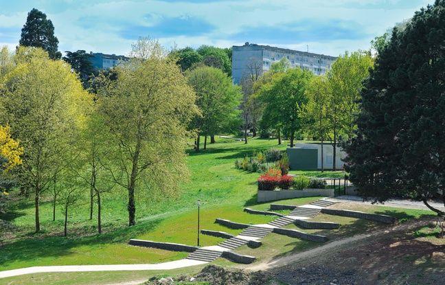 Le parc des Dervallières.