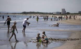 L'une des sept personnes s'étant noyée mercredi 15 septembre 2021 se baignait plage de la Grande Motte dans l'Hérault. (Illustration)