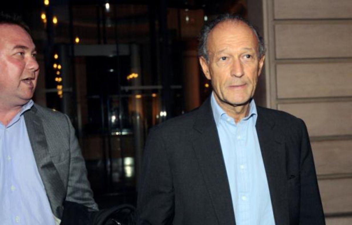 Thierry Gaubert, ancien conseiller de Nicolas Sarkozy, à Paris, le 21 septembre 2011. – J DEMARTHON/ AFP