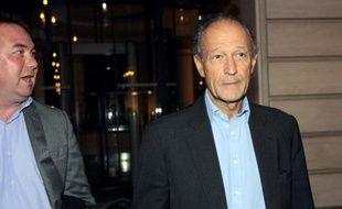 Thierry Gaubert, ancien conseiller de Nicolas Sarkozy, à Paris, le 21 septembre 2011.