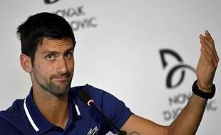Novak Djokovic n'a plus joué depuis Wimbledon.