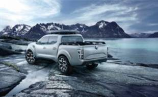 Le concept de pick-up Alaskan dévoilé le 3 septembre 2015 par Renault.