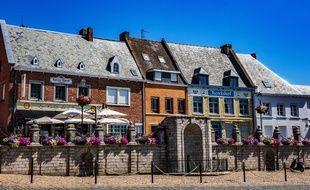 Une rue de Cassel, dans le Nord, élu «village préféré des Français», sur France 2.