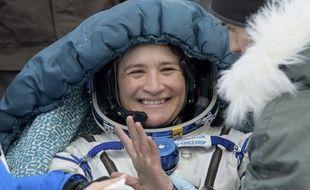 Serena Aunon-Chancellor, l'astronaute américaine, a atterri au Kazakhstan le 20 décembre 2018.