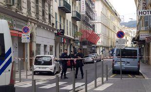 Des policiers à Nice, le 29 octobre 2020.