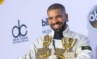 Le chanteur Drake aux Billboard Music Awards en 2017