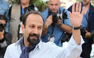 Le réalisateur iranien Asghar Farhadi, au photocall du Festival de Cannes, le 17 mai 2013, jour de la présentation de son film, « Le Passé ».