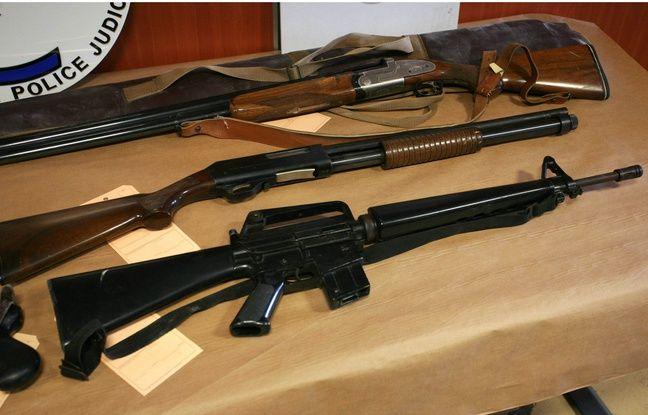 Illustration de trafics d'armes.