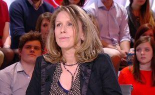 Pascale Clark sur le plateau du «Petit journal» de Canal+ en 2015.