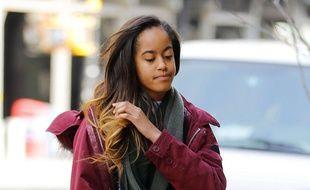 Malia, la fille de Barack Obama.