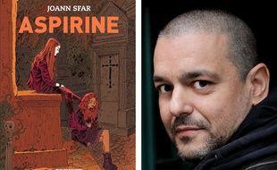 Le 1er tome d'«Aspirine» et son auteur, Joann Sfar