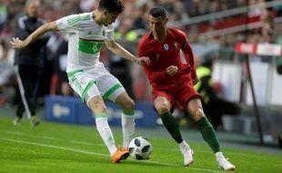 Cristiano Ronaldo a fait son retour contre l'Algérie.
