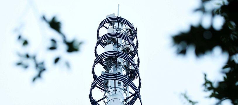 Une antenne relais 5G en Chine (illustration).