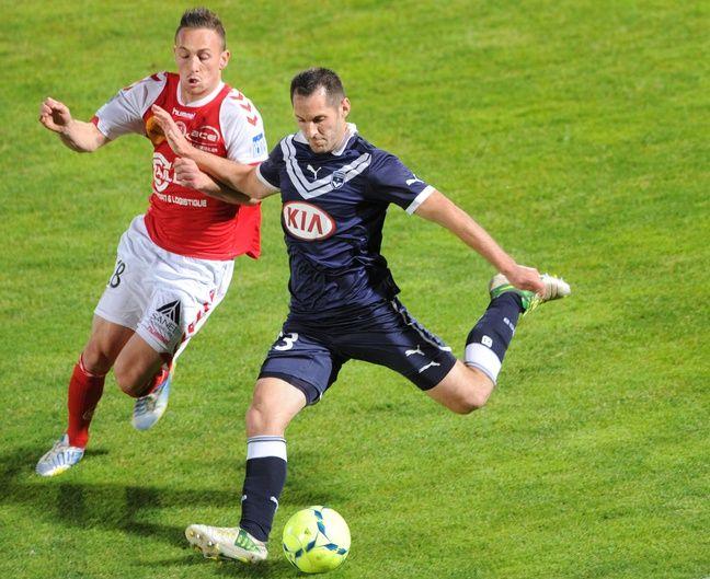 Florian Marange a joué de nombreuses saisons sous le maillot des Girondins entre 2004 et 2013.