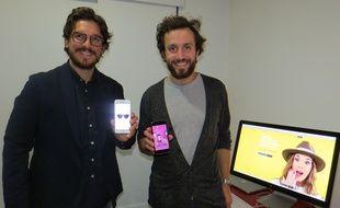 Fabrice Blisson et Pierre Monville, tous deux Marseillais, sont à l'origine de l'appli I-Wantit